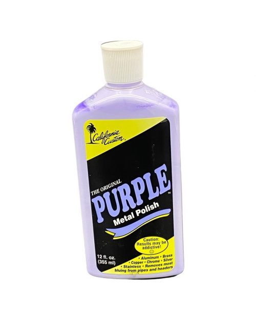 purple polish for stainless steel aluminum